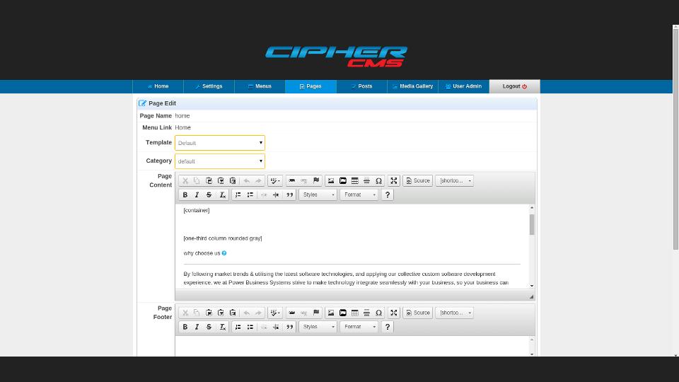Cipher CMS 05